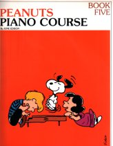 Peanuts Piano Lesson Book